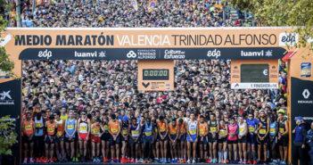 Media Maratón Valencia - Partida